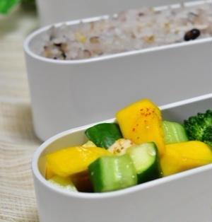 コリンキーと夏野菜の浅漬け