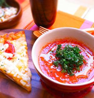 ホットトマトの飲むサラダ(ホットトマトスープ)