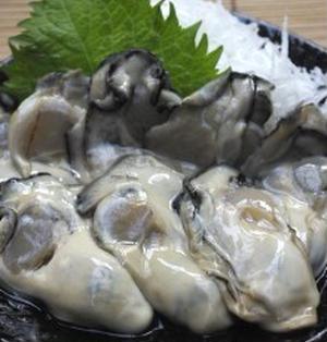 生牡蠣 de 昆布締め