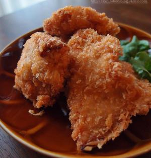 お弁当の茶色いおかず・ピリ辛チキンカツ