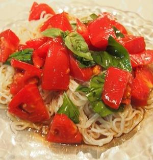 フレッシュトマトの冷麺